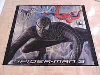"AMAZING SPIDERMAN 3  / VENOM CARPET 39"" X 47"" LIKE NEW KORHANI"