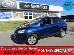 2016 Chevrolet Trax LT  AWD CAMERA BLUETOOTH TOUCH SCREEN ALLOYS