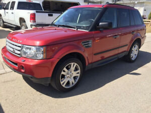 2008 Range Rover Sport Supercharged - Rimini Red (Less than 60)