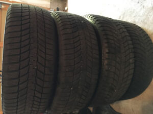 Four Like New Winter Tires on Rims for Sale in Bowmanville!