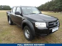 2007 07 FORD RANGER 2.5 DOUBLE CAB 4X4 1D 141 BHP DIESEL
