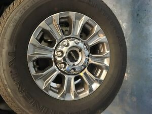 2017 SUPERDUTY RIM AND TIRE COMBO