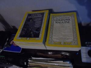 National Geographic 17 magazines 1930-1964