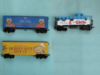 PRESIDENT'S CHOICE ELECTRIC TRAIN CARS * HO SCALE * 3 PC