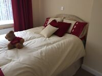 King Size bed with 4 draw base