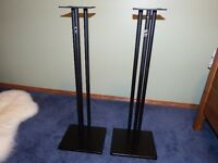Set of Studio Monitor Speaker Stands   Very Good Condition