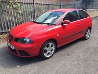 Seat Ibiza 1.4 56 plate 3 door red years mot 111k