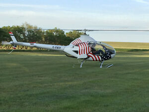 PRIZE WINNING ROTORWAY 162F HELICOPTER FOR SALE