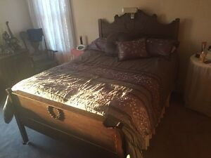 Double Bed Sets & Antique Chair