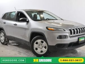 2016 Jeep Cherokee Sport 4X4 AUTO A/C GR ELECT MAGS BLUETOOTH
