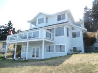 Large Oceanfront Home in Comox
