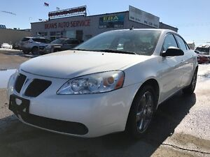 2008 PONTIAC G6 GT, V6, COMMAND START, LEATHER INTERIOR
