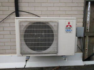 Ductless Air Conditioner - Great condition - 15000 BTU
