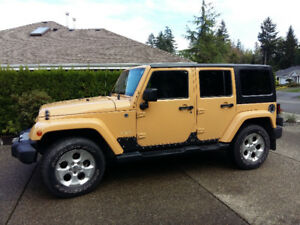 2014 Jeep Wrangler Sahara Unlimited SUV