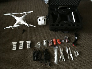 Phantom 3 advanced plus extras Drone UAV