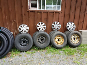 Tires and rims for sale. LT235/75R15