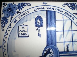 hand painted ceramic tiles - Grace Hospital Windsor Region Ontario image 6