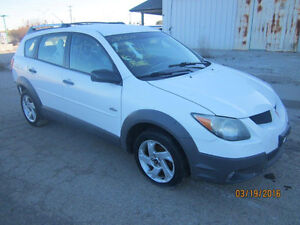 JUST IN FOR PARTS! 2003 PONTIAC VIBE @ PICNSAVE WOODSTOCK!