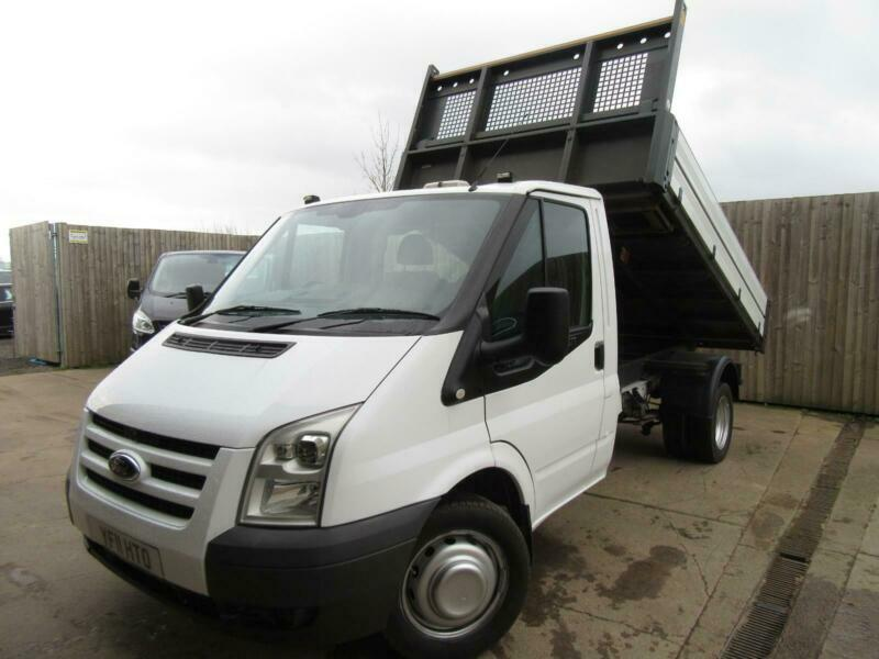 91803fc1eb0472 FORD TRANSIT TIPPER TRUCK ONE STOP ALLOY BODY 2011 2.4 TDCI FULL S H VGC