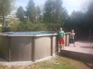 piscine hors-terre 12x24 ovale