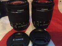 CANON EF-S IS STM 18-55mm IMAGE STABILISER STM AUTOFOCUS ZOOM LENSES