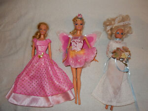 Vintage Barbies with Accessories