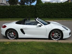 2013 PORSCHE BOXSTER S  -  6 speed