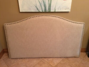 NEW Queen Upholstered Headboard