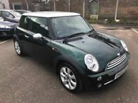 Mini Cooper 1.6 Automatic, *£4,535 Optional Extras* Leather, Paddle Shift, Air Con 3 Month Warranty