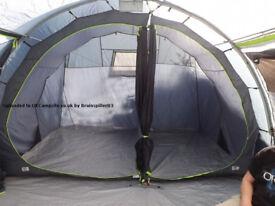 Sunncamp Vario 5 tunnel tent