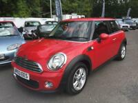 2014 Mini Hatchback 1.6 One 3dr 3 door Hatchback