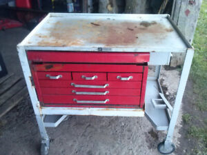 Rolling Tool Cart Shop Cart Tool Chest $150