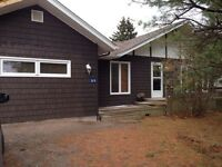 Cottage rental for the winter