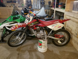 Honda 100R Dirt Bike