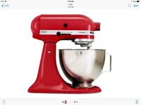 Brand NEW Kitchenaid Custom Stand Mixer 325 Watt 4.5QT RED Watch