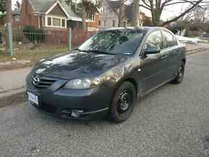2005 Mazda 3 GT- Rmt starter, winter tires, very nice shape