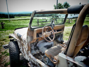 jeep yj 1995 (besoin inspection)