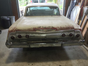 1962 Chevrolet Impala 2 door hardtop rare options car