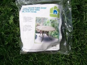 """Up to 52"""" Round Patio Table Cover ~ New in Package"""