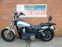 Lovely Harley Davidson FXDB Street Bob, factory fitted Alarm and Immoboliser.
