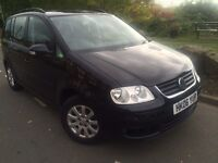 2006 Volkswagen Touran 1.6 s 7 seater mpv # 1 owner # service history # cheap insurance