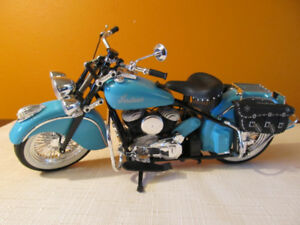 Indian motorcycle die cast replicas in 1:10 scale.