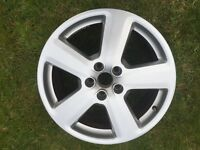 "18"" Genuine Audi s-line alloys 3 x alloys"