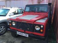 Land Rover 90 4C SW DT DIESEL,SNORKEL,LIFT KIT,SUMP GAURD,TOW BAR