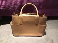 Nude colour handbag - excellent condition