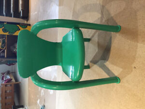 Toddler plastic lawn chair