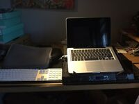 2010 Mac book pro 13inch has be customised (internally) with accessories