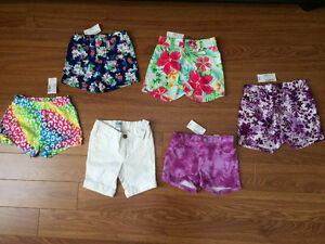 All new with tag girls 2T shorts