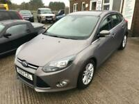 2012 Ford Focus 1.6 TDCi 115 Titanium 5dr HATCHBACK Diesel Manual
