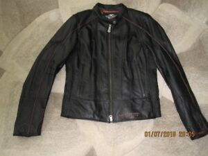 Harley Davidson Womens Meduim Leather Jacket